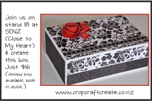 A beautiful box to store cards, or other treasures in.