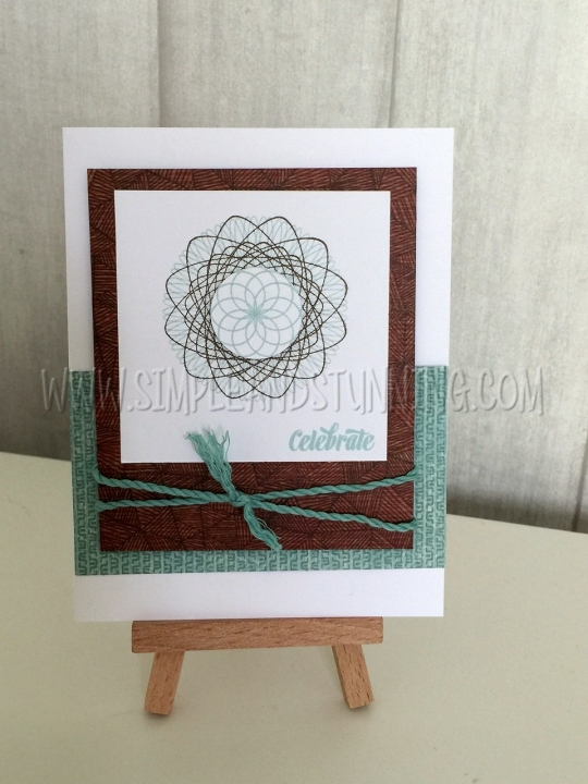 Come create this with us in Card Creations