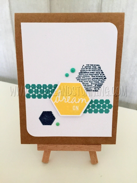 Happy Hexagons Hostess Rewards - available this month for just $6.50