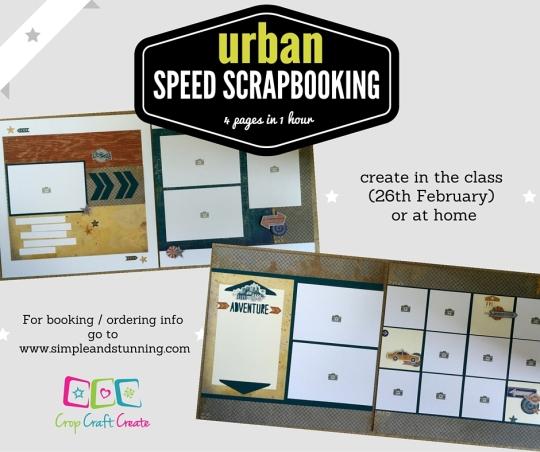 urban speed scrapbooking