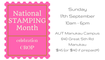 National Stamping Month celebration crop