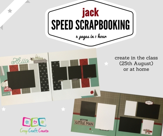 speed scrapbooking