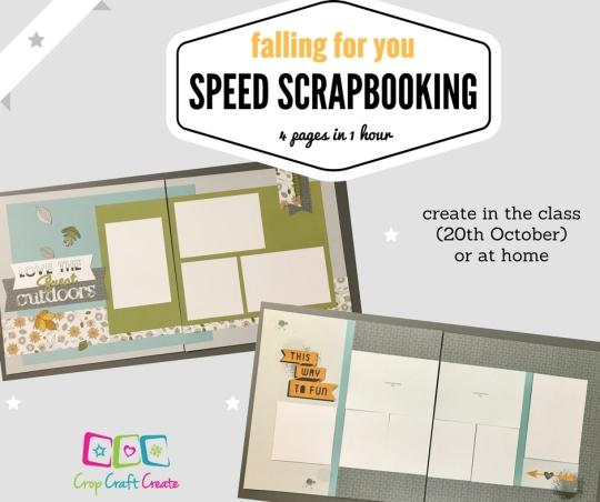 speed scrapbooking